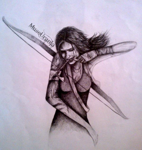 Lara Croft by MuseUrania
